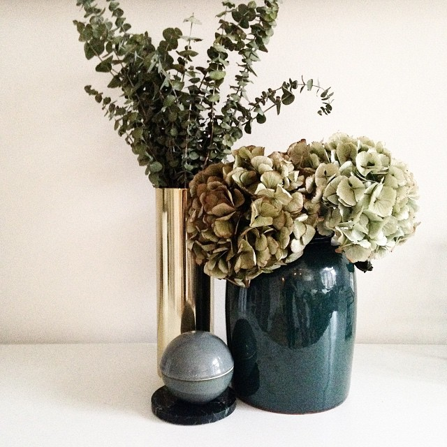 Deep Green Vases By Broste Copenhagen