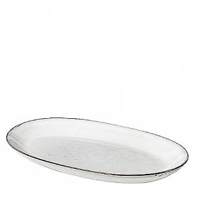 Broste Copenhagen Nordic Sand Large Oval Plate