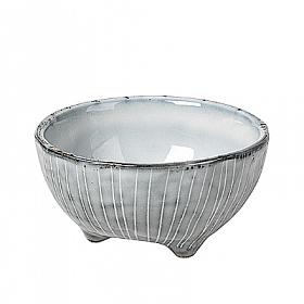 Broste Copenhagen Nordic Sea Bowl with 3 Small Feet (L)