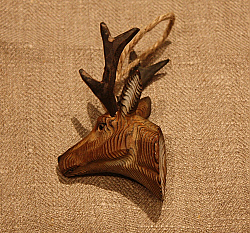 Small Wooden Antlers (hanging)