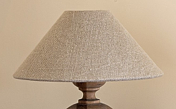 Lamp Shade in Thick Natural Linen