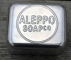 Soap Travel Case in Lightweight Aluminium